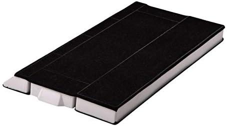 VIOKS - Filtro de carbón activo para campana extractora (rectangular, compatible con Balay, Bosch, Siemens, 00434229, Küppersbusch 566752, 395 x 28 x 175/196 mm): Amazon.es: Hogar