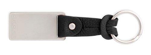Cross Black Leather Slip Tie Key Fob ()