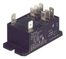 RELAY, DPDT, 277VAC, 30A T92P11D24-12 By TE CONNECTIVITY T92P11D24-12-TE CONNECTIVITY
