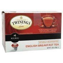 Twinings English Breakfast Decaf Tea Keurig K-Cups, 72 Count