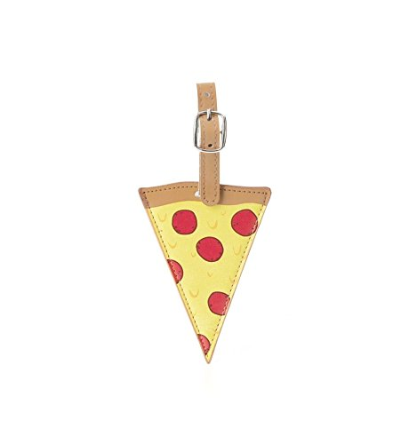 Kikkerland Luggage Tag, Pizza (TT36)
