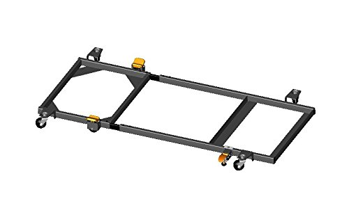 HTC Products HRS-8G Style EX Welded Mobile Base, W22.00 X B19.00 X L48.00 X E30.00-Inch fits Delta 10'' Cabinet Table Saw Tilting Arbor Saw w 52'' fence model #36-752