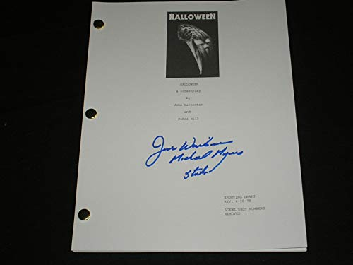 JIM WINBURN Signed HALLOWEEN SCRIPT Autograph Michael Myers