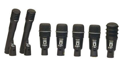 8 Piece Drum Mic (SUPERLUX DRK-F5H3 8 Piece Drum Mic Set Microphone Drum)