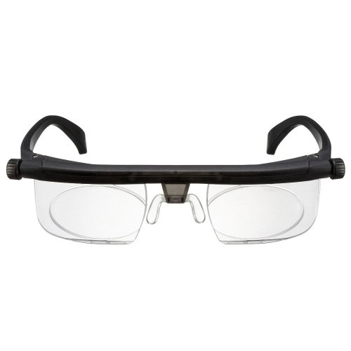 Adlens Glasses - Adjustable Focus Eyeglasses - Variable Focus Instant Prescription – Innovative Power Optics Technology - Great for Reading – For Seniors Women & Men Distributed Americana - How To Frames Glasses Adjust
