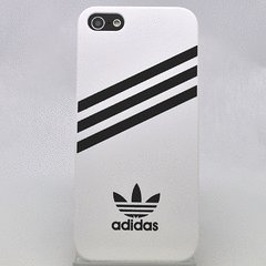 867f9db142 Image Unavailable. Image not available for. Colour  White Adidas Hard Case  Compatible for iPhone 5