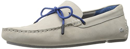 Lacoste Men's Piloter Corde 217 1, Grey, 11 M US