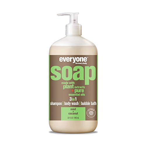 Everyone 3-in-1 Soap, Mint and Coconut, 6 ()