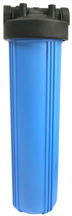 20'' Big Blue Filter Housing, Blue/Black, 1'' in/out by Applied Membranes, Inc.