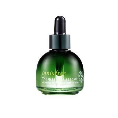 KOREAN-COSMETICS-Innisfree-The-Green-tea-Seed-Oil-30ml-water-nutrition-antioxidant-oil001KR