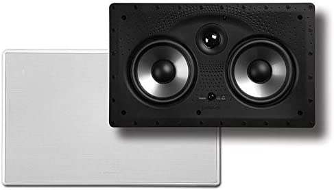 Polk Audio 255c-RT in-Wall Center Channel Speaker Up to 100 Watts Big Bass at a Great Value 2 Featuring High Current Amp and Low-Pass Filter 5.25 Drivers /& Audio PSW10 10 Powered Subwoofer