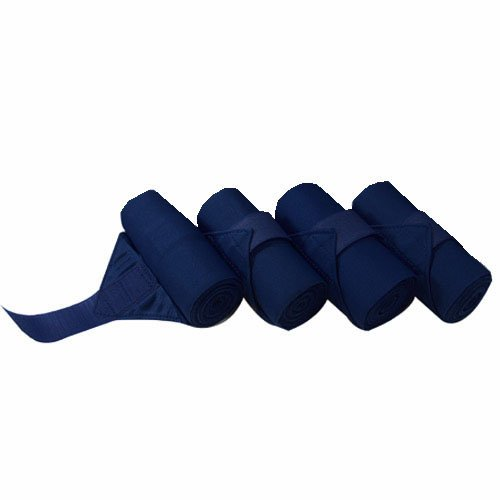 Intrepid International Standing Bandages, Navy, X-Long