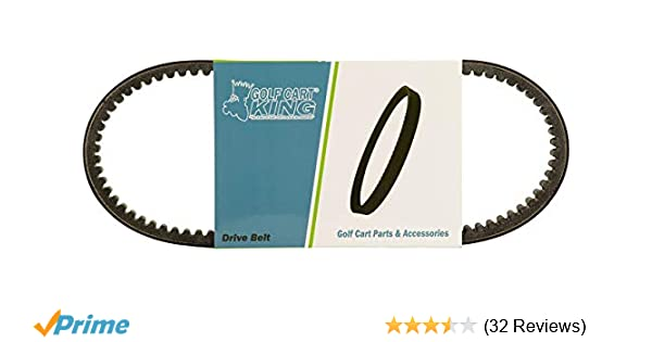 Amazon.com : Yamaha G2, G8, G9, G14, G16, G22 Golf Cart Clutch Drive Belt : Golf Cart Accessories : Sports & Outdoors