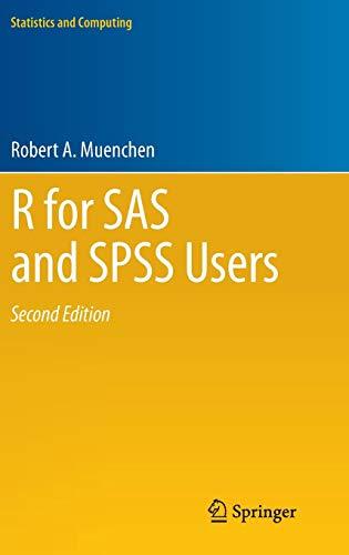 R for SAS and SPSS Users (Statistics and Computing)