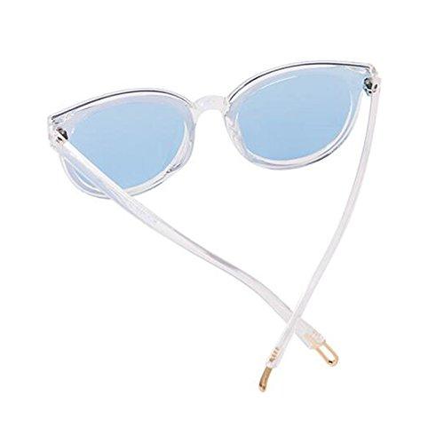 mujer estrellas Personalidad Gafas Protección aire Gafas Gafas de de al casuales excursionista de de libre nuevas de polarizadas sol de Protección de UV Gafas UV400 sol para conducción sol sol Azul Regalo FXqXAUw