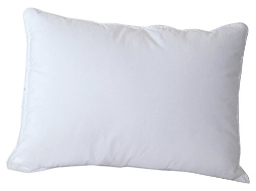 - Cloud Nine Comforts Micro Loft Pillow, Boudoir, White