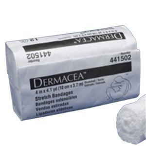 Dermacea Stretch Bandage 6'' x 4 yds. (Stretched) 75'' (Relaxed) (Bag of 12) by Kendall (Image #1)