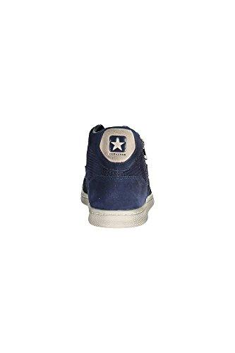 Converse Zapatillas abotinadas Pro Lea Lp Mid Suede Zip Perf Azul Oscuro EU 45
