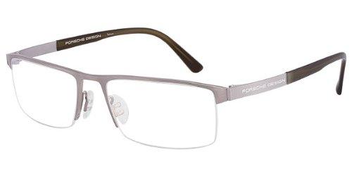 PORSCHE DESIGN P 8239 Eyeglasses Titanium Transparent Olive - Glasses Eye Porsche