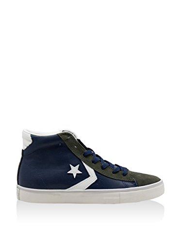 Alte Uomo Vulc Sneaker Militare Verde PRO Converse Leather Blu 4nBqWHxgv