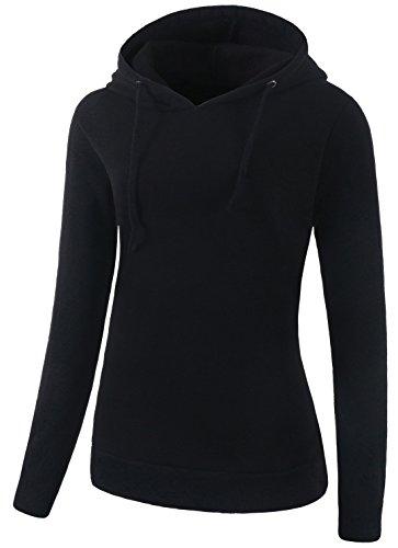 VOGRYE Womens Loose Fit Pullover Hoodie With Plus Size Casual Sweatshirt