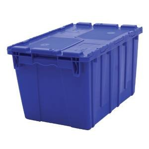[Blue Storage Totes with Hinged Lids] (Hinge Tote)