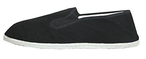 Tai Chi / Kung Fu Schuhe / Slipper mit Stoffsohle