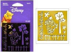 Disney Brass Stencil Template, Eeyore, 46621, Winnie The (Stencils Disney)
