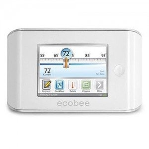 Ecobee EB-EMS-02 Thermostat, Full Color Touch Screen Energy Management System-2PK