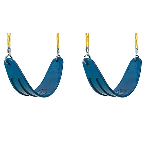 Extreme Heavy Duty Swing Seat Set - 2 Pack of Outdoor, Playg