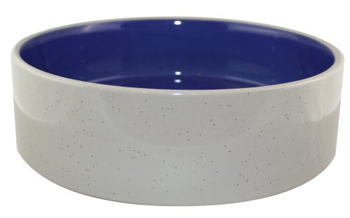 - Ethical 9-1/2-Inch Stoneware Crock Dog Dish