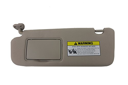 Genuine Hyundai 85201-0A750-QDQQH Sun Visor Assembly, Beige, Left