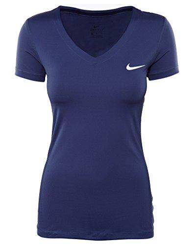 Nike Seier Baselayer Kortermet Tee Hvit Lilla