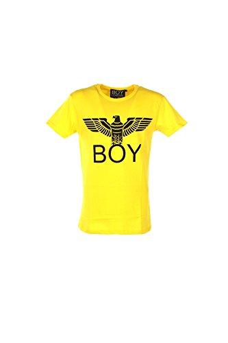 T-shirt Uomo Boy London L Giallo Bl584 1/7 Primavera Estate 2017