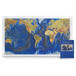 Ocean Floor Raised Relief Map (Raised Relief Map of the Ocean Floor with Teacher's Guide)