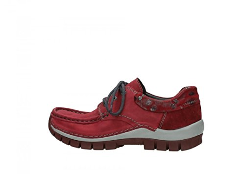 Wolky Baskets femme 59530 mode Oxblood pour Leather wOq01wT