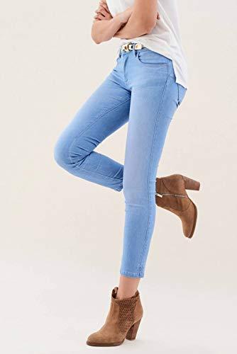 Jeans Wonder Salsa Azzuro Cintura Di Con Capri Offerta 1B6w6qd