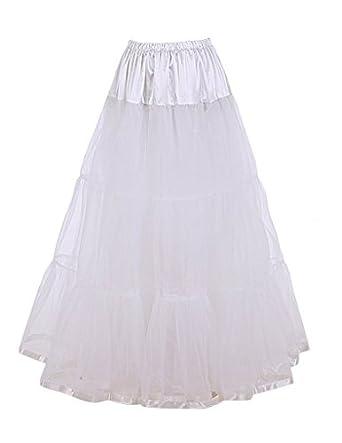 DaisyFormals Falda estilo años 50, Largo hasta el tobillo, estilo ...