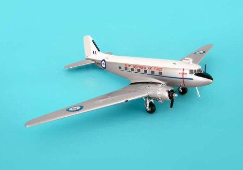 Jcwings Australia Air Force DC-3 1/200 Grey Tail