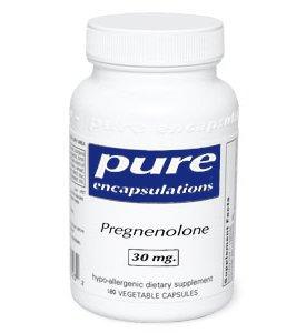 Pure Encapsulations Prégnénolone 30 mg - 180 capsules