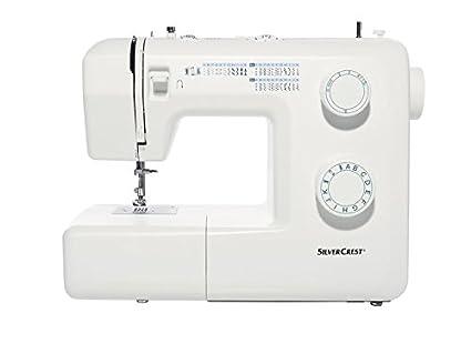 Máquina de coser Silvercrest SNM33B1. 33 puntadas y 4 niveles automáticos