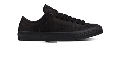 Converse Chuck Taylor All Star OX Black/Black/Gum (8.5 B(M) US Women / 6.5 D(M) US (Polka Dot Converse Shoes)