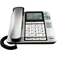 G E Thompson Corded Desk Phone Cid Tilt Screen Large Tilt Display Keypad Buttons