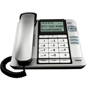 Corded Desk Phone- CID- Tilt Screen (Catalog Category: Corded Telephones / Feature Telephones), Office Central