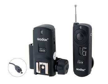 RM2-N2 3-in-1 Remote Control II for Nikon D70S, D80 (Black) + Worldwide free - N2 Remote