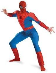 Men's Costume: Spiderman Deluxe-Extra Large PROD-ID : 1456877