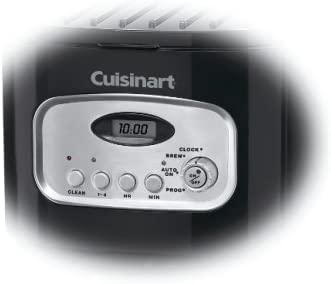 Cuisinart DCC-1150BK 10-Cup Classic Thermal Programmable Coffeemaker Black