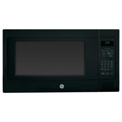 GE PEB7226DFBB Profile 2.2 Cu. Ft. Black Countertop Microwave