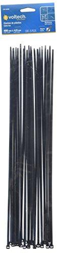 Volteck CIN-5040N, Cincho Plástico, 50 lb, 40 cm (25 Piezas)