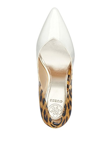 Indovina Le Donne Becool Pump Bianco / Marrone Multi / Gradiente Leopardo